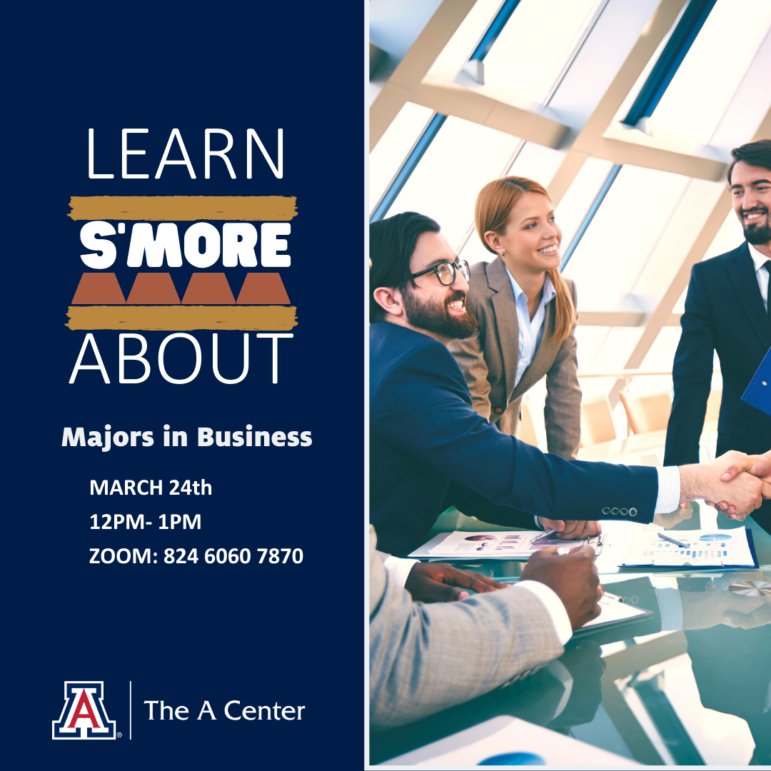 Learn S'more about Business majors